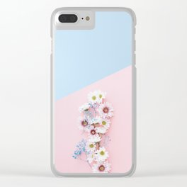 Flower Photography Clear iPhone Case