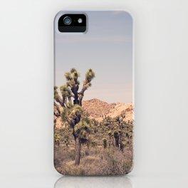 Scenes from Joshua Tree, No. 2 iPhone Case