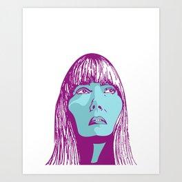 Joni Art Print