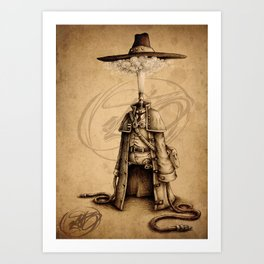 #18 Art Print