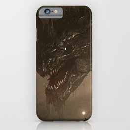 One Who Knows No Mercy iPhone Case