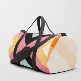 Retro Pattern 01 Duffle Bag