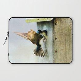 Tree Swallows Laptop Sleeve
