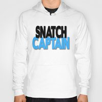snatch Hoodies featuring Snatch Captain by Raunchy Ass Tees