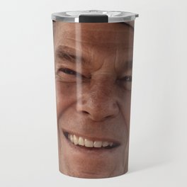 President Ronald Reagan in a Cowboy Hat Travel Mug