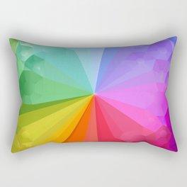 Crystal Colorwheel Rectangular Pillow