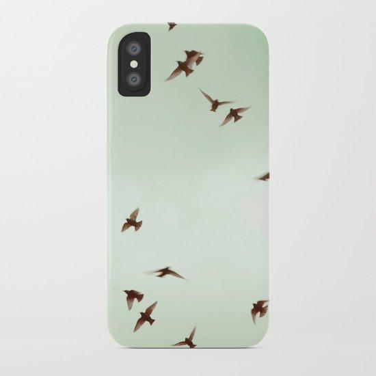 Birds iPhone Case
