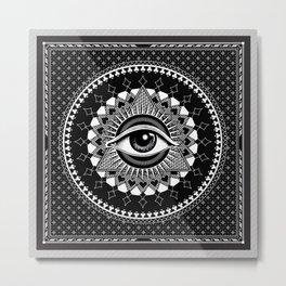 The Eye of Providence Metal Print