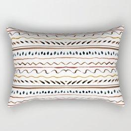 Line ornament Rectangular Pillow