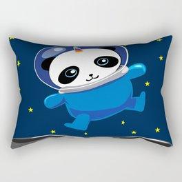 Pandacorn in Space Rectangular Pillow