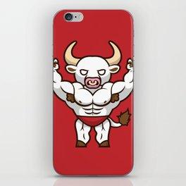 Bruno the Buff Bull iPhone Skin