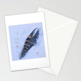 Sea snail - Mitra zonata Stationery Cards