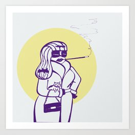 Shirley Art Print