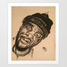 Curren$y Art Print