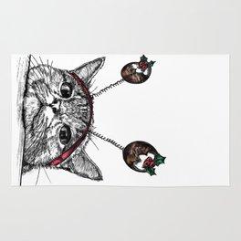 Bored Cat Rug