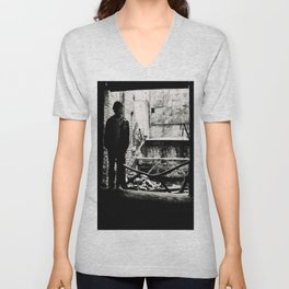 Cloaked in Darkness Unisex V-Neck