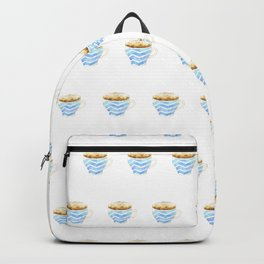 Capuccino Foam Cup Backpack