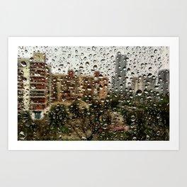 nobody, not even the rain Art Print