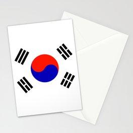 South Korean Flag Logo Stationery Cards