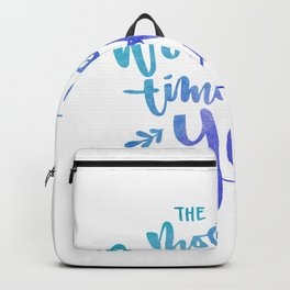 The most wonderful time of the year colored Backpack