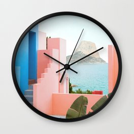 Muralla Roja 3 Wall Clock