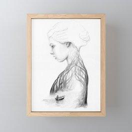 Onward and Inward Framed Mini Art Print