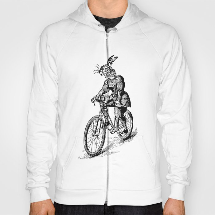 The Bicycle Bunny Hoody