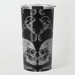 """""""Skull in Love"""" Travel Mug"""