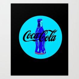 Coca-Cola Shirt Art Print