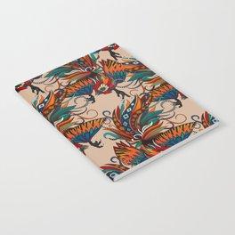 rooster ink beige Notebook