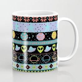 Far-Out Galaxy Fair Isle Sweater Coffee Mug