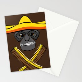 Gibbon Desperado Stationery Cards