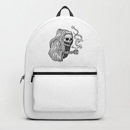 death before decaf Backpack