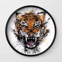 Unrelenting Ire Wall Clock