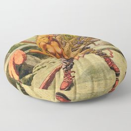 Twisted Games Floor Pillow