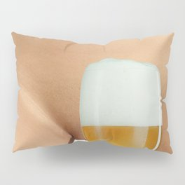 Beer and Naked Woman Pillow Sham