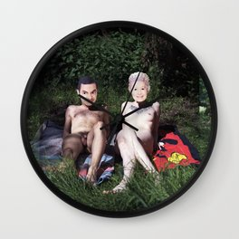 Mr. Bean & The Queen Wall Clock