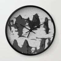 birch Wall Clocks featuring Birch by vdell