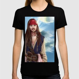 Captain Jack Sparrow - Pirates of the Caribbean T-shirt