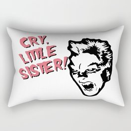 Vampire Michael, Cry! Design for Wall Art, Prints, Posters, Tshirts, Women, Men, Youth Rectangular Pillow