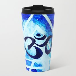 Om universe Metal Travel Mug