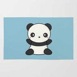 Kawai Cute Hugging Panda Rug