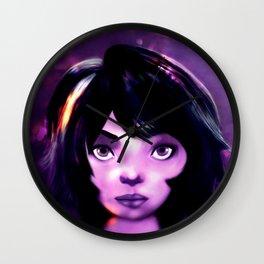 Cute Girl Wall Clock