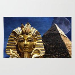 King Tut and Pyramid Rug