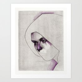 NaNoDrawMo 2012 - 21 Art Print