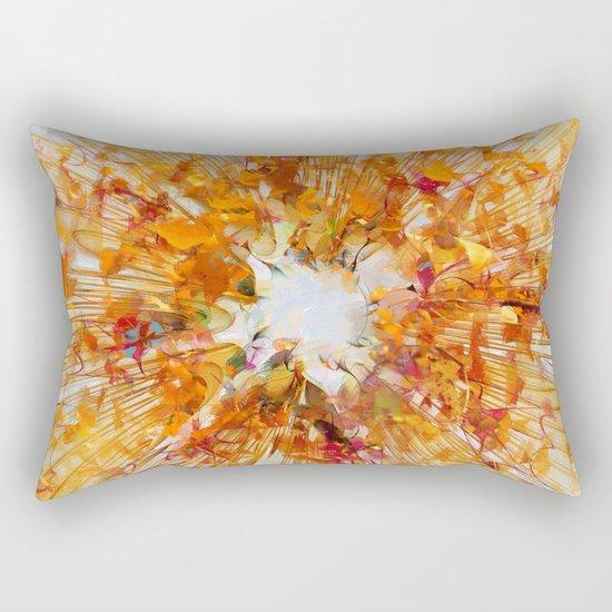 Autumn Leaf Fall Rectangular Pillow