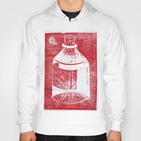 whisky Hoodies featuring Ol' Whisky Bottle by Shane Haarer
