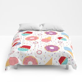 Donuts party Comforters