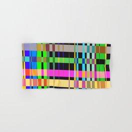 inclined coloured stripes Hand & Bath Towel
