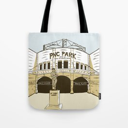 Pittsburgh Baseball Tote Bag